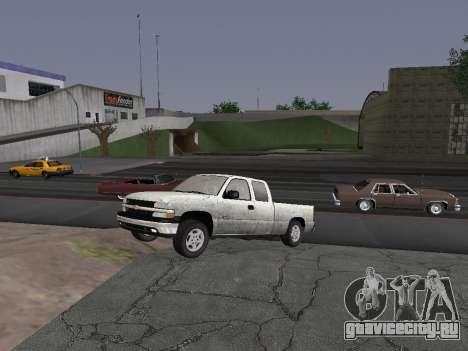 Chevorlet Silverado 2000 для GTA San Andreas вид слева