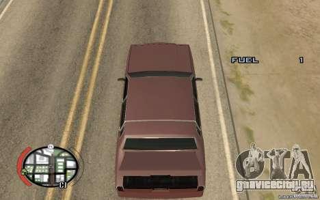 Trunk Hide для GTA San Andreas второй скриншот
