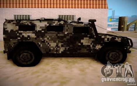 ГАЗ 2725 from BO2 для GTA San Andreas