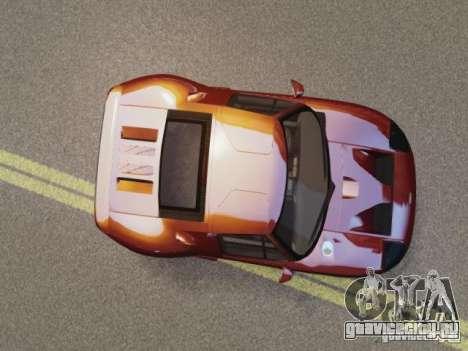 Ford GT для GTA 4 вид справа