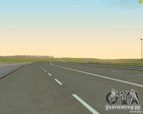 Достроенная дорога для  Криминальной России для GTA San Andreas пятый скриншот