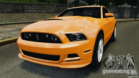 Ford Mustang 2013 Police Edition [ELS] для GTA 4