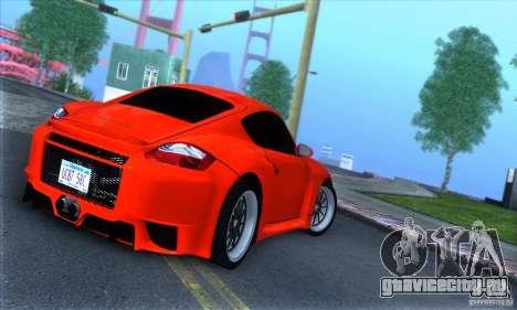 Porsche Cayman S v2 для GTA San Andreas вид справа
