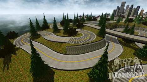 Edem Hill Drift Track для GTA 4