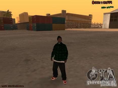 Grove Street Family для GTA San Andreas третий скриншот