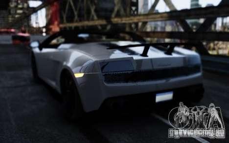 Lamborghini Gallardo LP570-4 Spyder для GTA 4 вид сзади слева