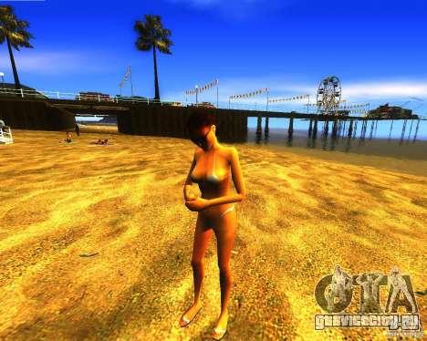 Спасение человека на пляже для GTA San Andreas третий скриншот