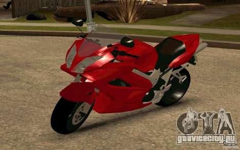 Honda VTR 2003 для GTA San Andreas вид сзади слева