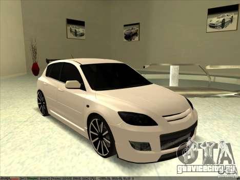 Mazda Speed 3 Stance v.2 для GTA San Andreas
