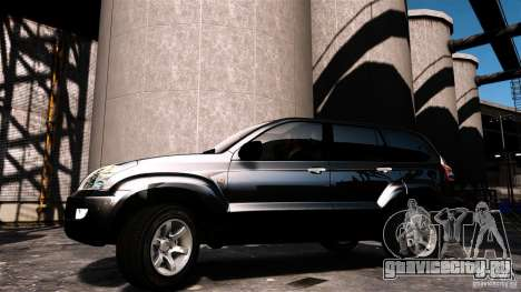 Toyota Land Cruiser Prado для GTA 4 вид сзади слева