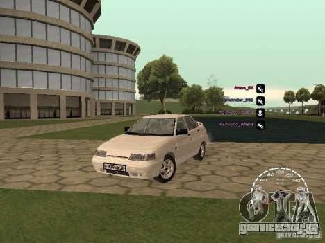 Спидометр Лада Приора для GTA San Andreas