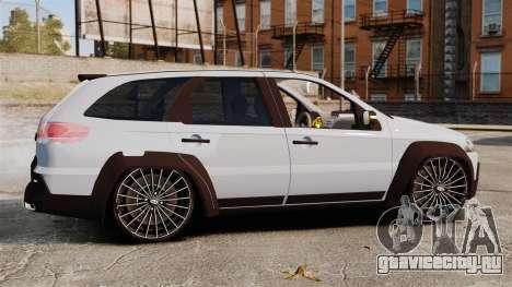 Fiat Palio Adventure Locker Evolution для GTA 4 вид слева