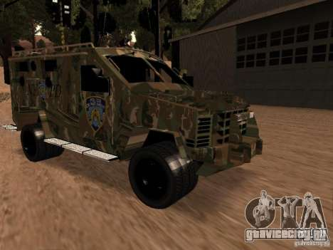 Lenco Bearcat NYPD для GTA San Andreas