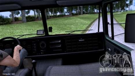 КРАЗ Автошкола для GTA San Andreas вид справа