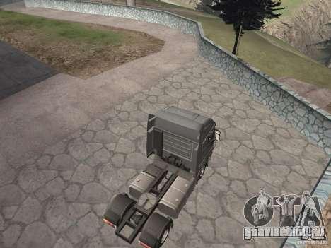 Iveco Stralis GTS для GTA San Andreas вид сзади слева