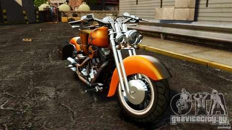Harley Davidson Fat Boy Lo Vintage для GTA 4