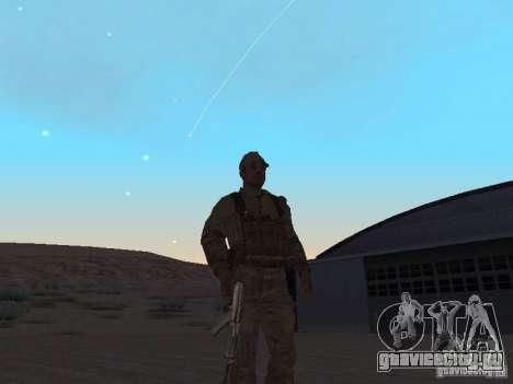 Скин Советского Солдата для GTA San Andreas второй скриншот