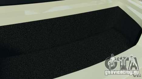 Nissan GT-R 2012 Black Edition для GTA 4 вид снизу