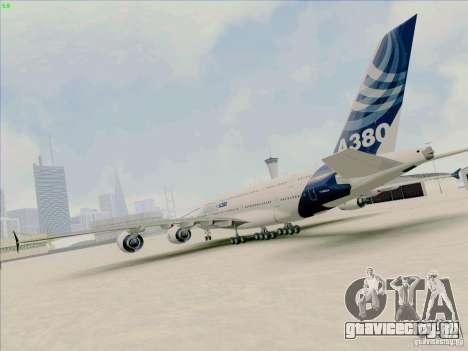 Airbus A380-800 для GTA San Andreas вид слева