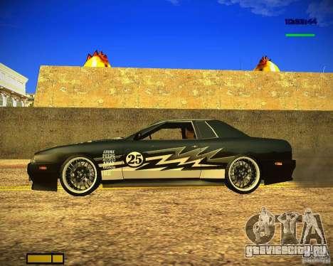 Пак винилов для Elegy для GTA San Andreas вид слева