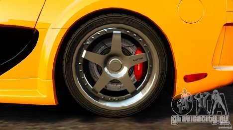 Mazda RX-7 Veilside Tokyo Drift для GTA 4 вид изнутри