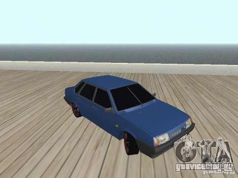 ВАЗ 21099 v2 для GTA San Andreas