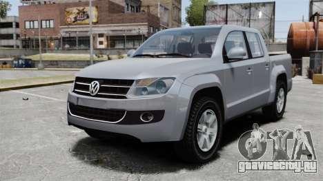 Volkswagen Amarok TDI для GTA 4