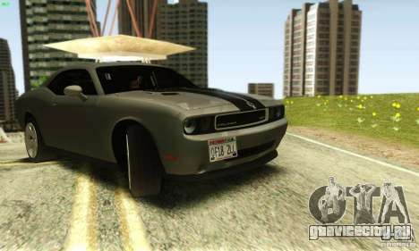 Dodge Challenger SRT-8 для GTA San Andreas вид справа