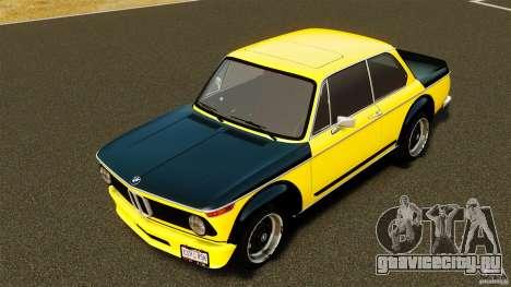 BMW 2002 Turbo 1973 для GTA 4 вид изнутри
