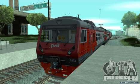 РЖД ЭД4М-0431 для GTA San Andreas