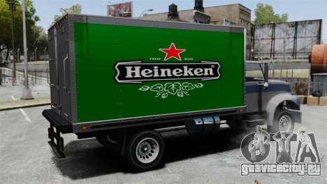 Новая реклама для грузовика Yankee для GTA 4 вид изнутри