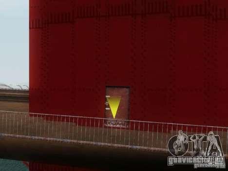 Подъем на мост Золотые ворота для GTA San Andreas