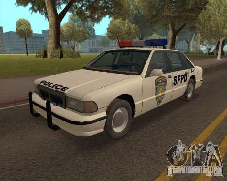Updated SFPD для GTA San Andreas