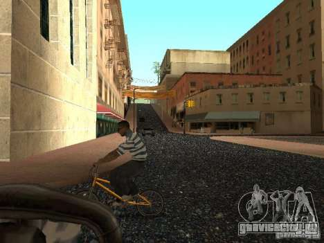 Новый Grove Street для GTA San Andreas одинадцатый скриншот