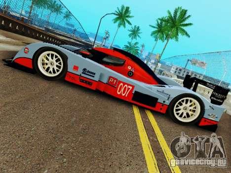 Aston Martin DBR1 Lola 007 для GTA San Andreas вид справа
