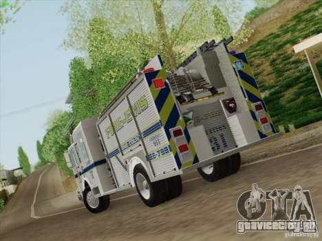 Pierce Pumpers. B.C.F.D. FIRE-EMS для GTA San Andreas вид справа