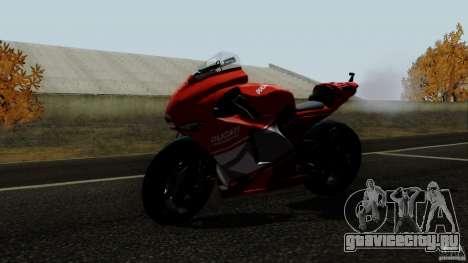 Ducati Desmosedici RR для GTA San Andreas вид сзади слева