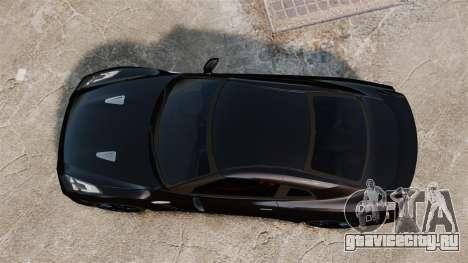 Nissan GT-R Black Edition (R35) 2012 для GTA 4