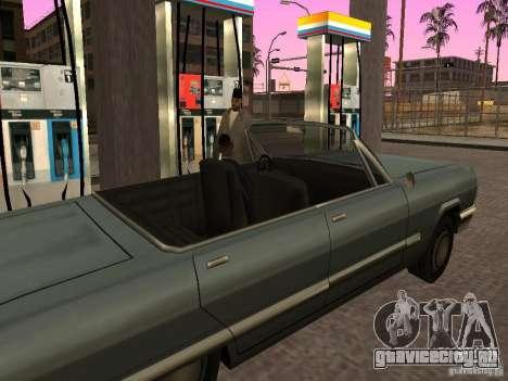Оживлённая заправка в Лос Сантос для GTA San Andreas четвёртый скриншот