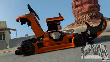 Gumpert Apollo Sport 2011 v2.0 для GTA 4 вид слева