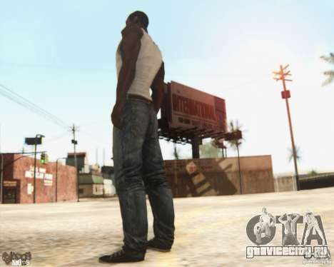 New CJ для GTA San Andreas третий скриншот