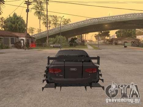 Audi A4 Touring для GTA San Andreas вид справа