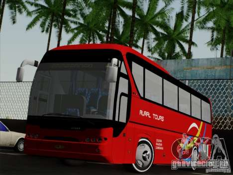 Neoplan Tourliner. Rural Tours 1502 для GTA San Andreas вид слева