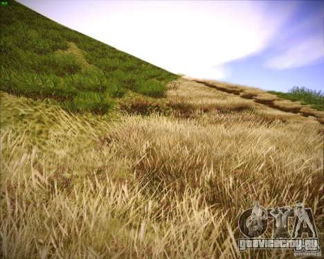 New grass для GTA San Andreas второй скриншот