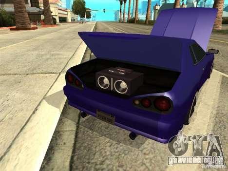 Elegy by W1nston4iK для GTA San Andreas вид изнутри