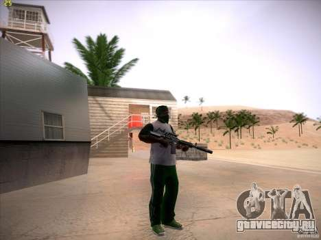 M4 Close Quarters Combat для GTA San Andreas четвёртый скриншот