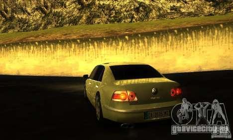 Volkswagen Phaeton 2005 для GTA San Andreas вид слева