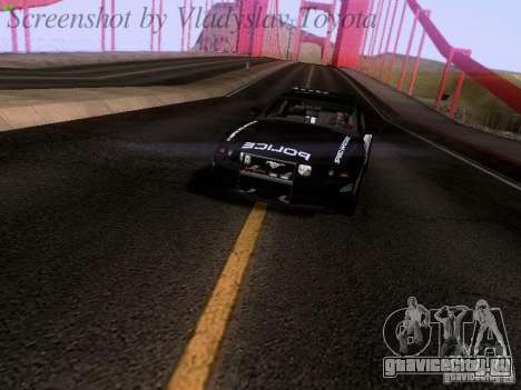 Ford Mustang GT 2011 Police Enforcement для GTA San Andreas вид справа