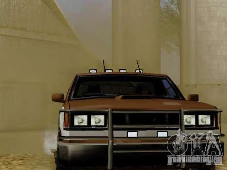 Yosemite Custom для GTA San Andreas вид сзади