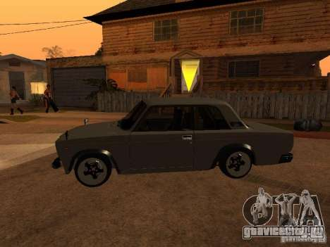 Ваз 2107 Coupe для GTA San Andreas вид слева